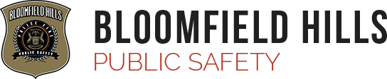 Bloomfield Hills Public Safety Homepage